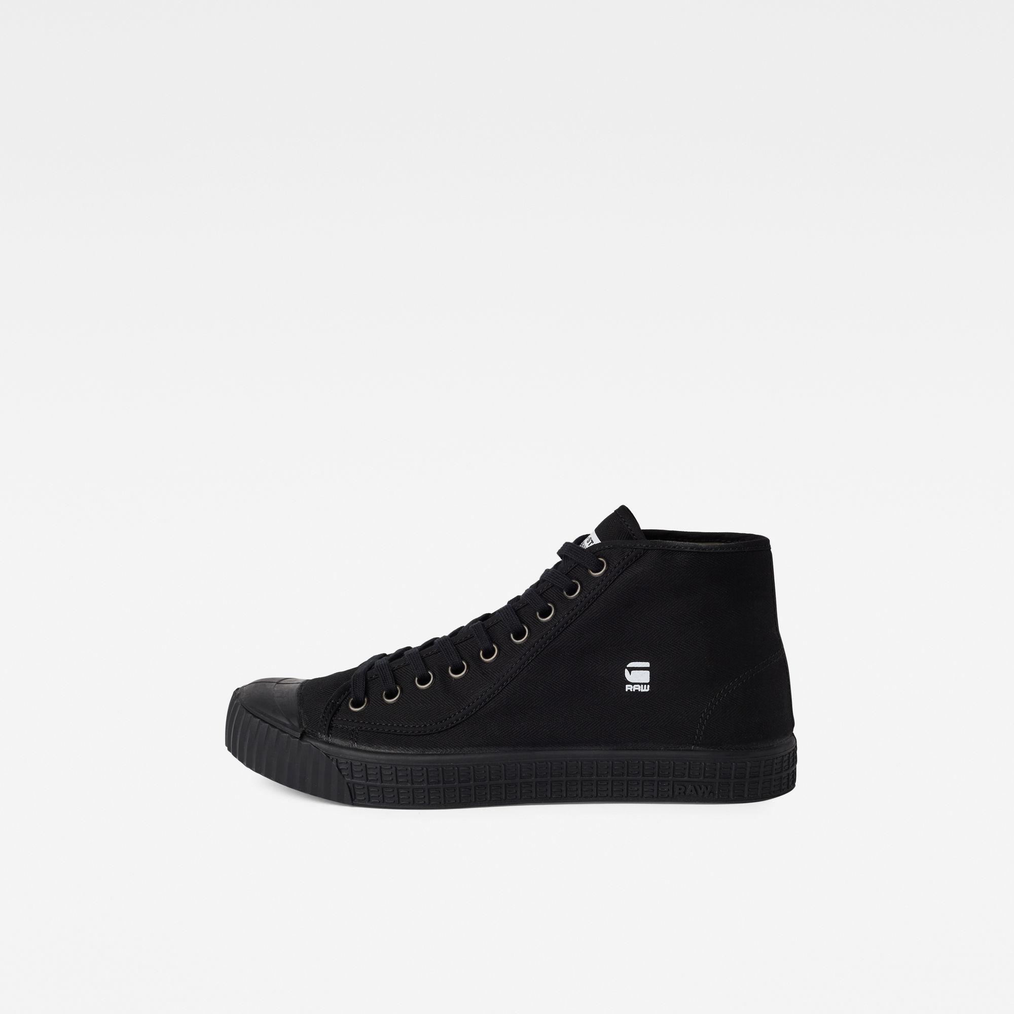 G-Star RAW Rovulc HB Mid Sneakers Black Men