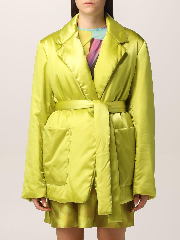 msgm blazer msgm donna colore lime