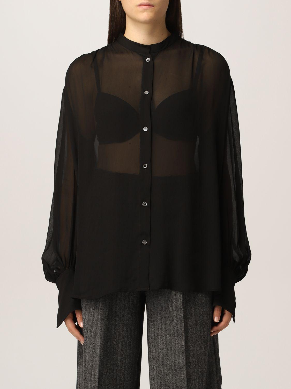 grifoni camicia grifoni donna colore nero