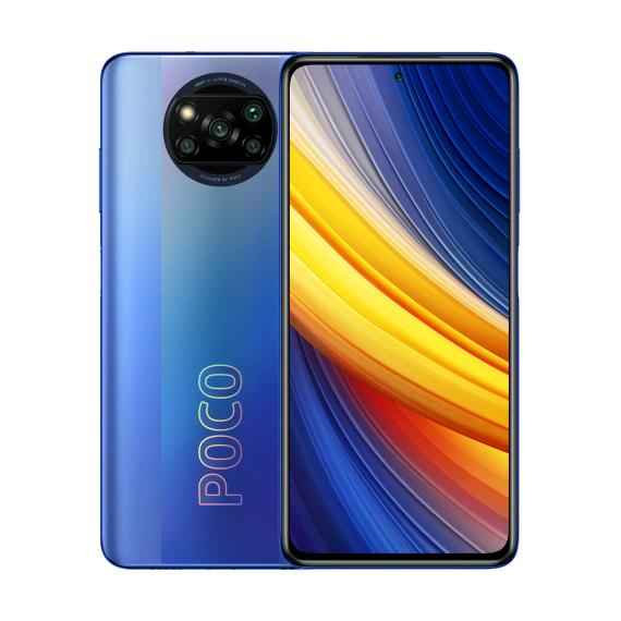 Xiaomi Poco X3 Pro Dual LTE 128GB 6GB RAM Frost Blue (Doublesealed) (6934177738302) - Global spec with warranty