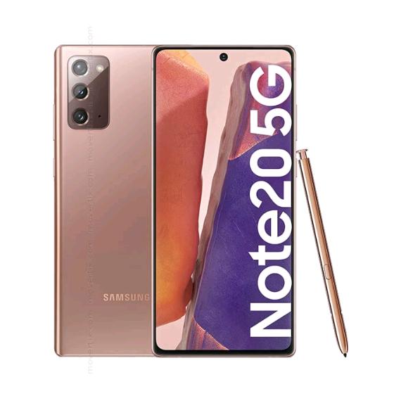 Samsung N981B-DS Galaxy Note 20 Dual 5G 256GB 8GB RAM Mystic Bronze (Doublesealed) (8806090597251) - EU Spec