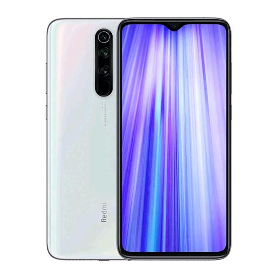 Xiaomi Redmi Note 8 Pro Dual LTE 64GB 6GB RAM Pearl White (English Box) (6941059634638) - Global spec with warranty