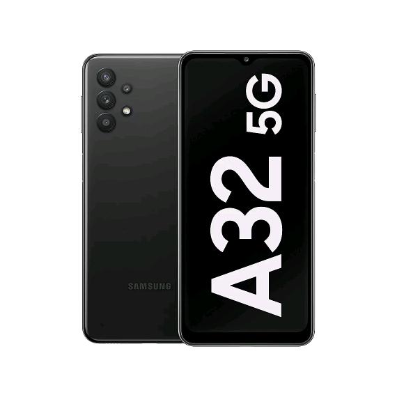 Samsung A326B-DS Galaxy A32 Dual 5G 128GB 4GB RAM Awesome Black (8806090963858) - EU Spec, Operator Application