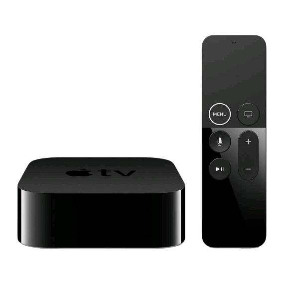 apple smart home apple tv 4k 64gb black