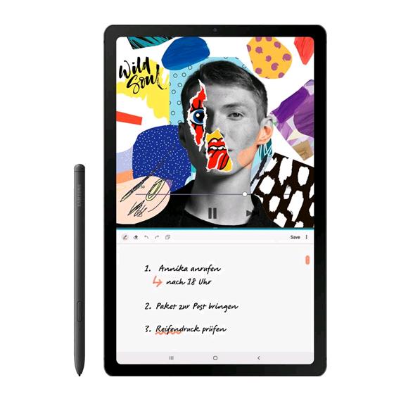 Samsung P610 Galaxy Tab S6 Lite 10.4 Wifi 64GB Oxford Grey (Doublesealed) (8806090436512) - EU Spec