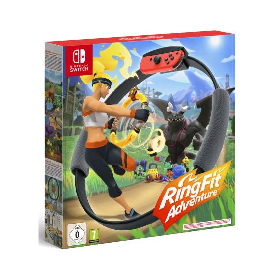 game nintendo switch ring fit adventure standard edition incl. ring-con