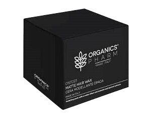 sma srl organics pharm pasta modellante ad effetto opaco con estratti di lavanda e albicocca 250ml
