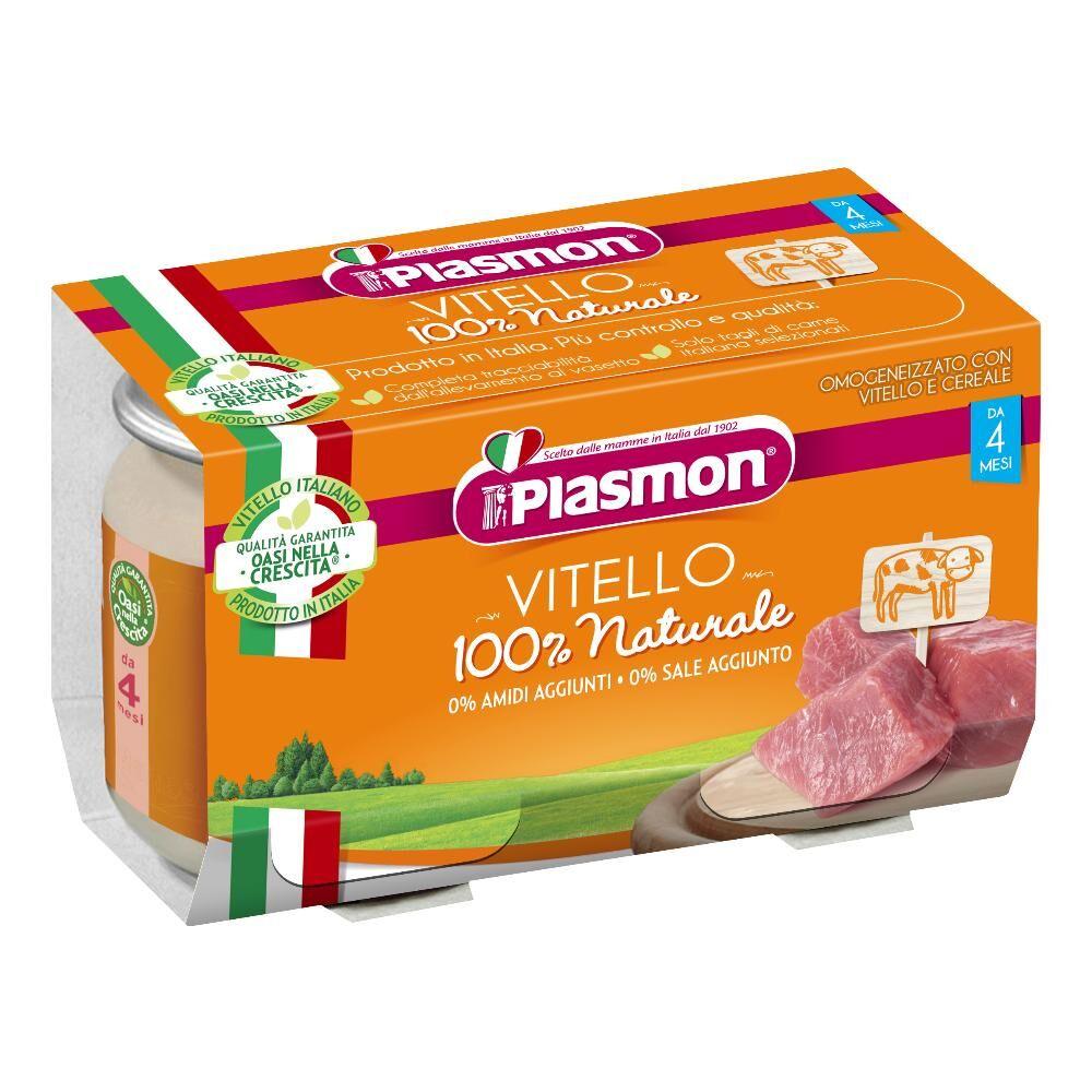 Plasmon (Heinz Italia Spa) Plasmon Omog Vitello 120gx2pz