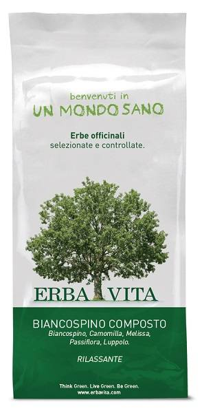 Erba Vita BIANCOSPINO Comp.Tis.100g  EBV