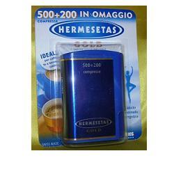 Dompe' Farmaceutici Spa Hermesetas Gold 500+200 Compresse