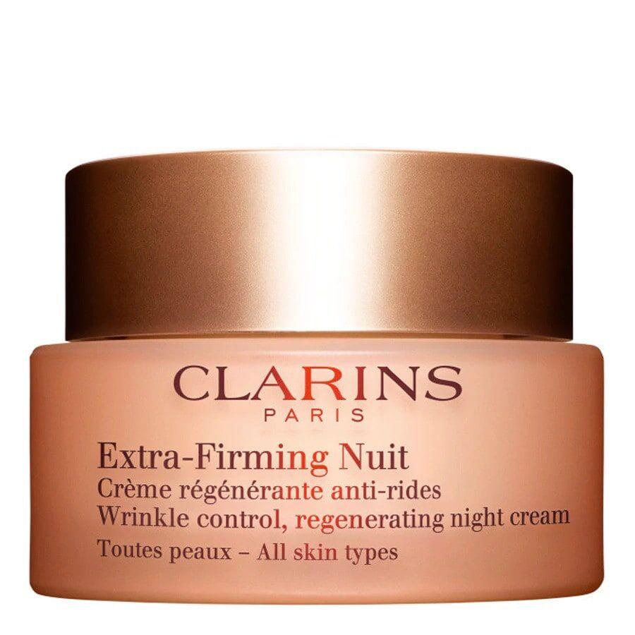 clarins extra- firming crema antirughe notte per tutti i tipi di pelle 50ml
