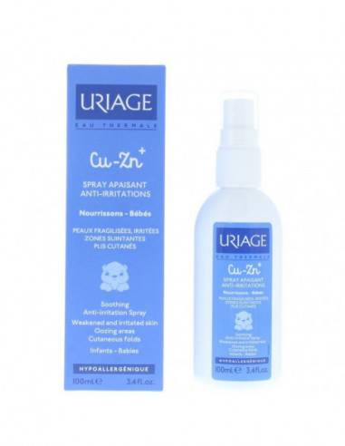 Uriage - Uriage Bebe' Spray Cu-zn Anti-irritazioni