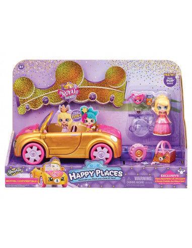 Giochi Preziosi - Shopkins Happy Places Royal Car