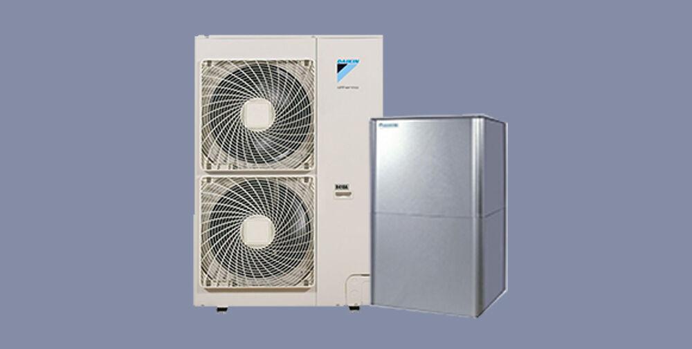 pompa di calore aria-acqua daikin solo caldo alta temperatura hitemp 11 h1p/3p (trifase)