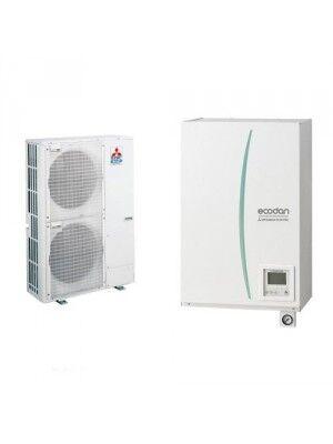 pompa di calore aria-acqua mitsubishi electric split hydrobox reversibile-ecodan puhz-5w 120 vha (trifase)