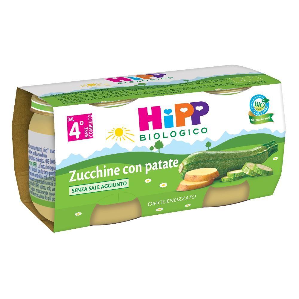 hipp bio omog.zucchine patate 2x80g