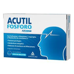 Angelini Spa Acutil Fosforo Linea Advance - Integratore Alimentare  - 50 Compresse