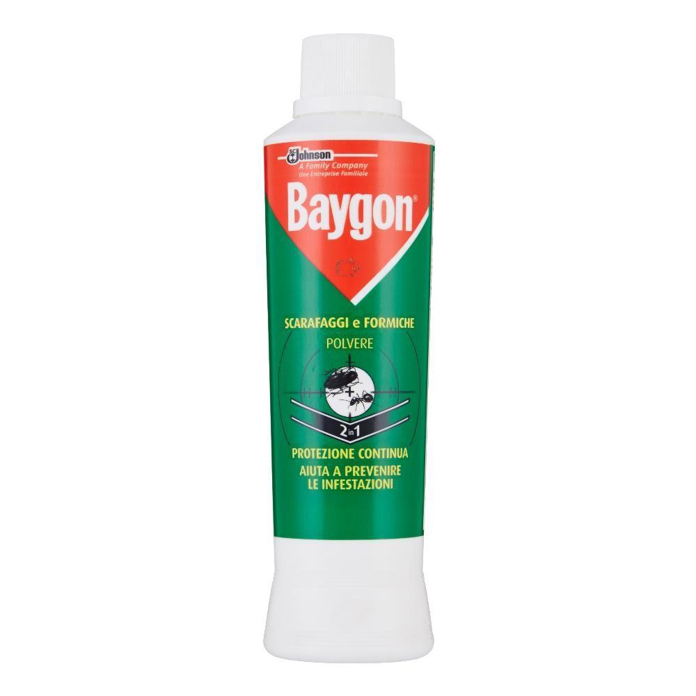 sc johnson italy srl baygon scarafaggi formiche polvere 250g