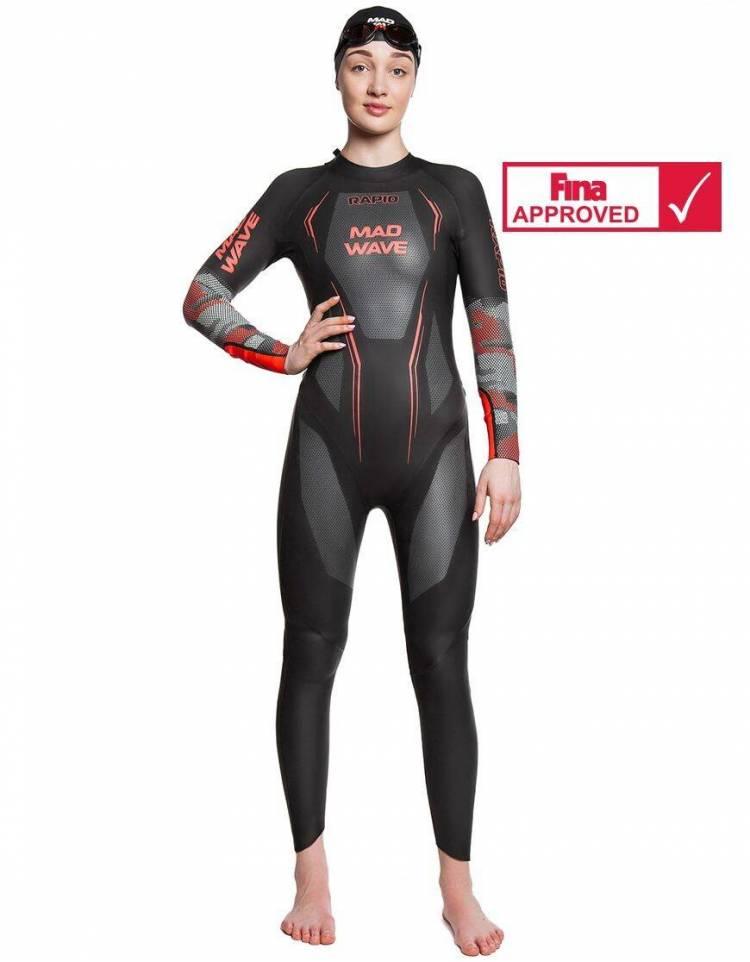 MadWave Muta Triathlon Nuoto Rapid Donna Omologata Fina