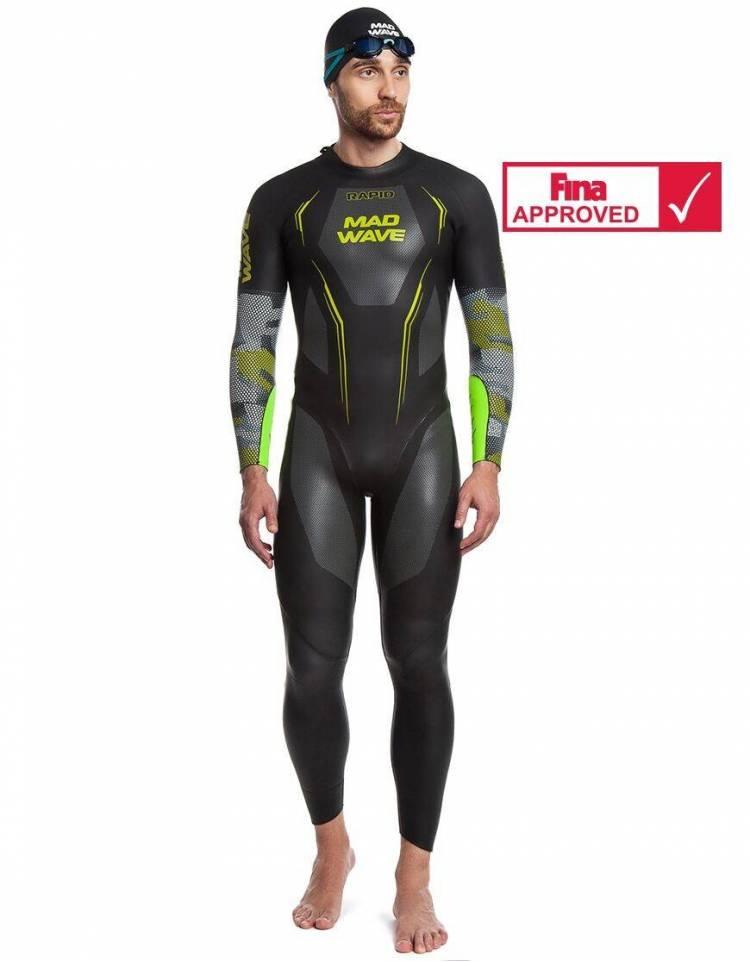 MadWave Muta Triathlon Nuoto Rapid Uomo Omologata Fina