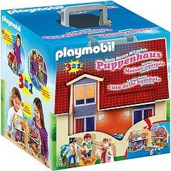 playmobil casa delle bambole portatile  (5167)