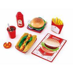 Hape Fast Food Set (E3160)