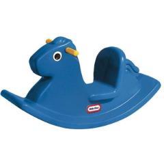 little tikes cavallo a dondolo blu