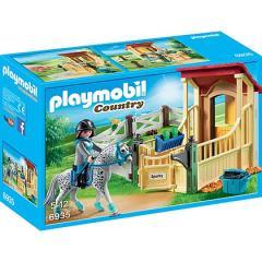 Playmobil Stalla con Cavallo Appaloosa (6935)