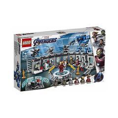 lego sala delle armature di iron man - lego super heroes (76125)