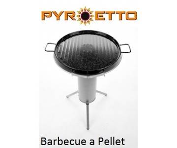 Barbecue Pyroetto a pellet Portatile, senza fumi