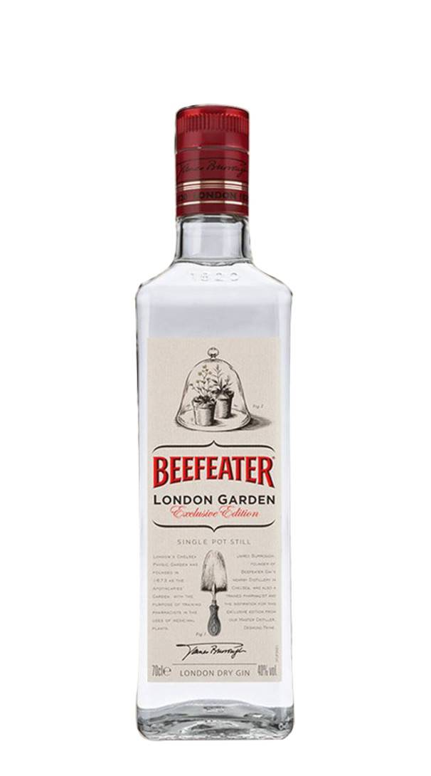 beefeater gin london dry 'london garden' beefeater