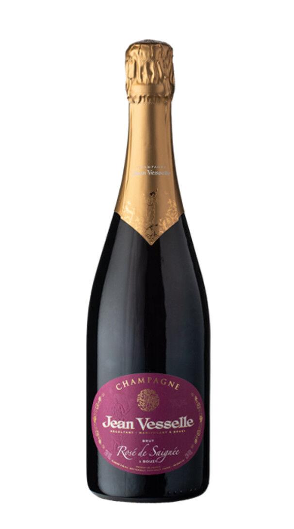 Jean Vesselle Champagne Brut Rosé de Saignée Jean Vesselle