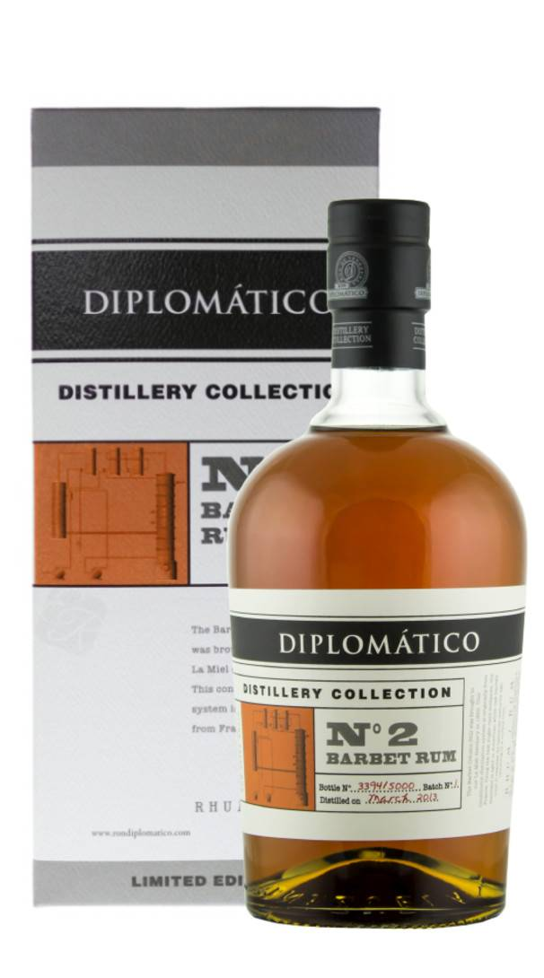 DUSA - Diplomatico Rum 'Distillery Collection N° 2 Single Column Barbet' Diplomatico