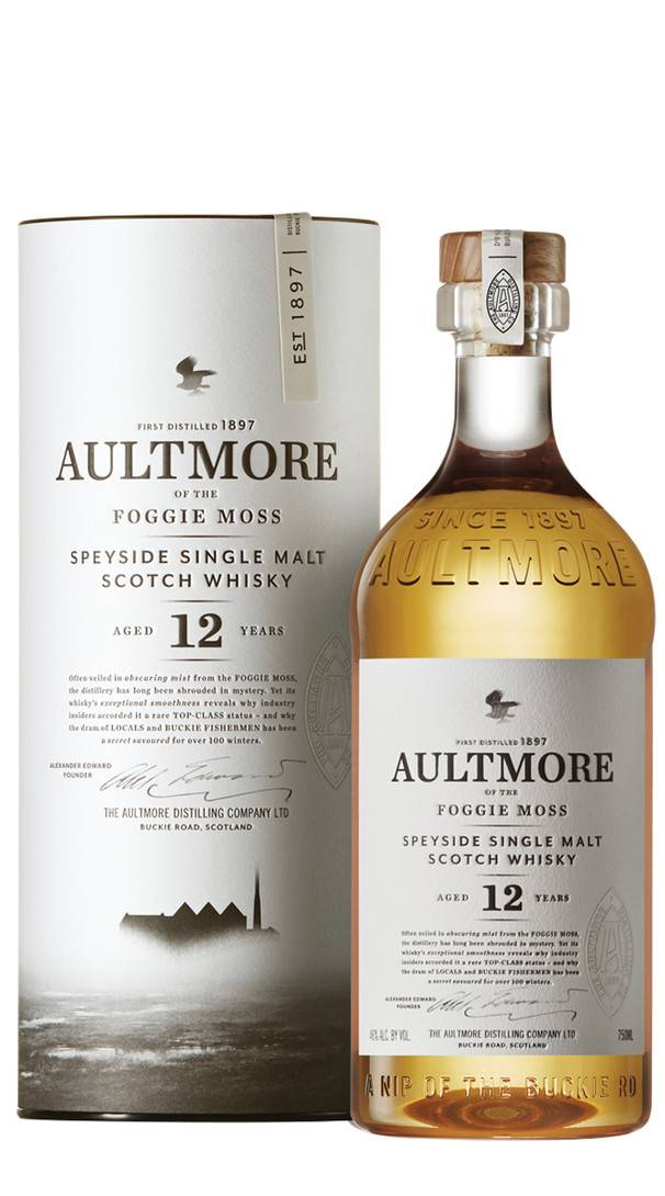 Aultmore Whisky Single Malt 'Foggie Moss' Aultmore 12 Anni