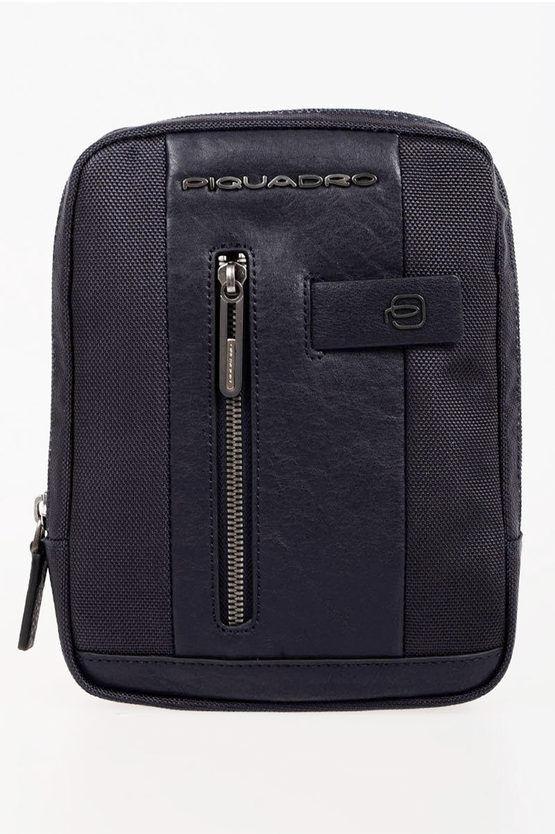 piquadro brief borsa a spalla porta ipad mini blu taglia unica
