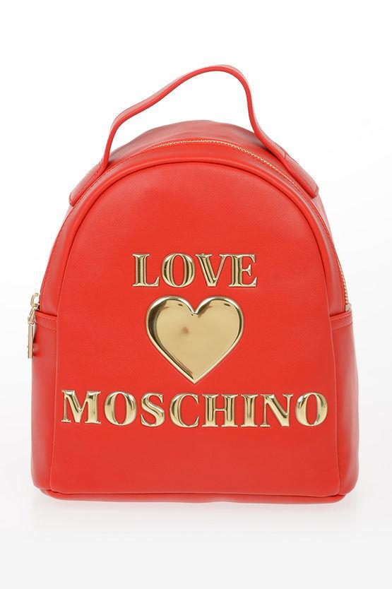 Moschino LOVE Zaino PADDED SHINY HEART in Ecopelle taglia Unica