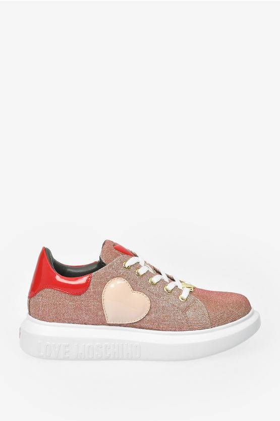 Moschino LOVE Sneakers RUNNING Glittered taglia 39
