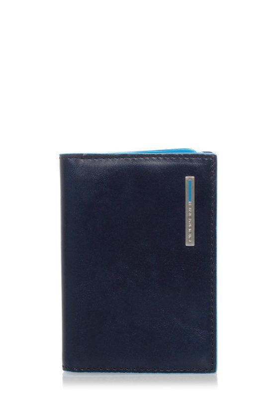 Piquadro BLUE SQUARE Porta Carte di Credito Blu2 taglia Unica