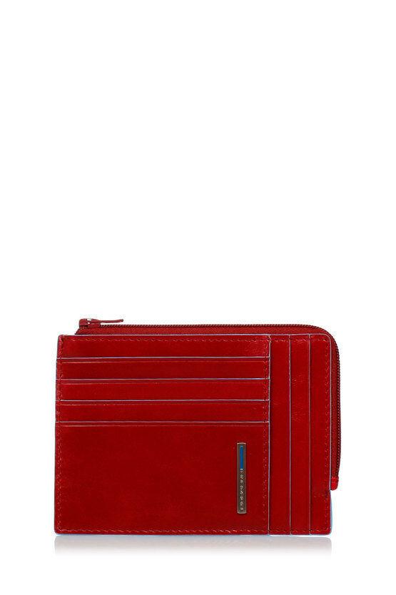 Piquadro BLUE SQUARE Portafoglio Portamonete, Documenti e Carte di Cr taglia Un