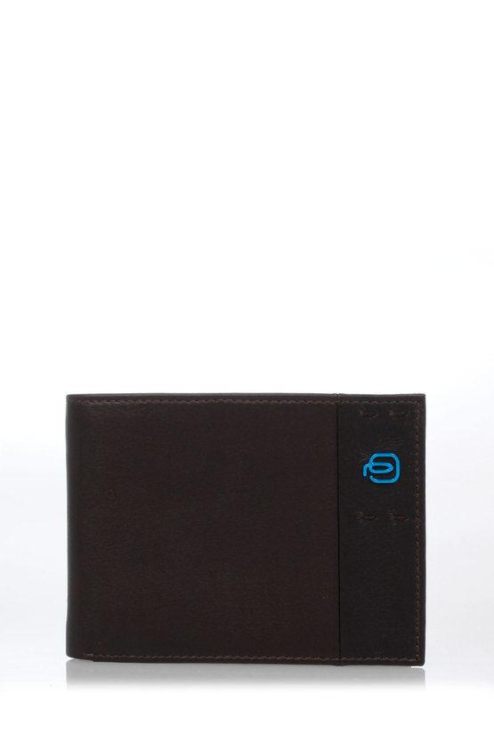 Piquadro PULSE Portafoglio con Portamonete, Documenti e Carte di Cred taglia Un