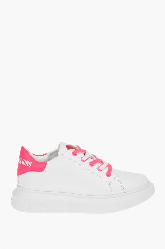 Moschino LOVE Sneaker RUNNING in Pelle taglia 35