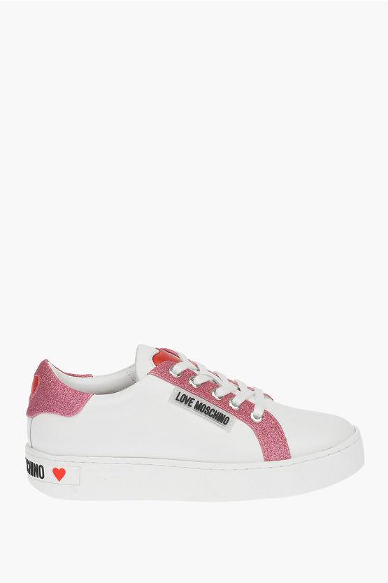Moschino LOVE Sneakers in Pelle taglia 40
