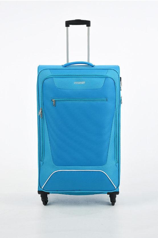 American Tourister HYPERBREEZ Trolley Grande 81cm 4R Espandibile Blu taglia Unica