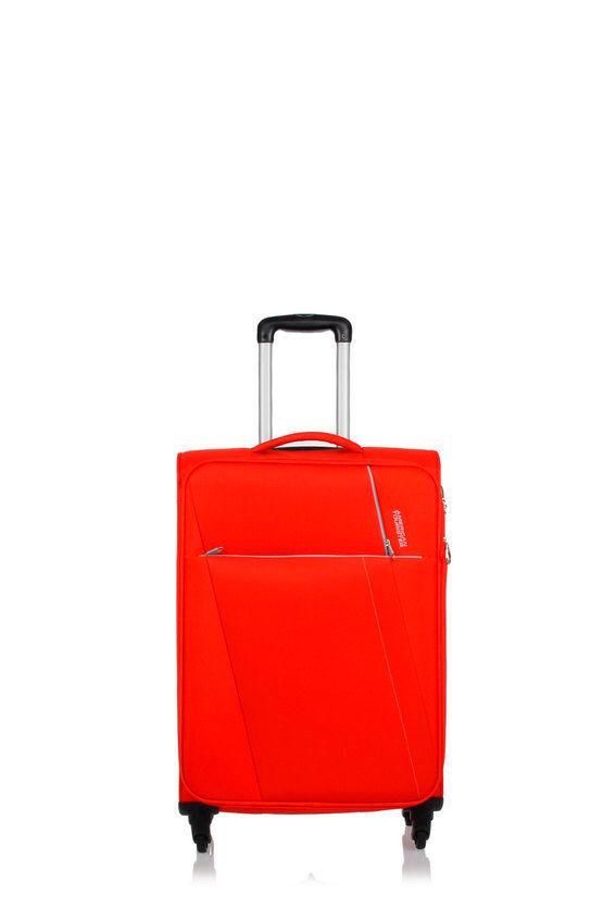 American Tourister JOYRIDE Trolley Medio 69cm 4R Espandibile Rosso taglia Unica