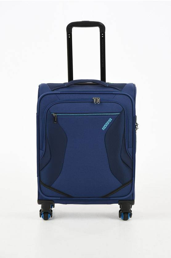 American Tourister ECO WANDERER Trolley Cabina 55cm 4R Navy taglia Unica
