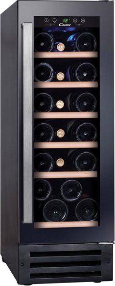 Candy Ccvb 30 Cantinetta Frigo Incasso Per Vini Capacità 19 Bottiglie Classe Energetica B Raffreddamento 5 - 22 °c Colore Nero - Ccvb 30