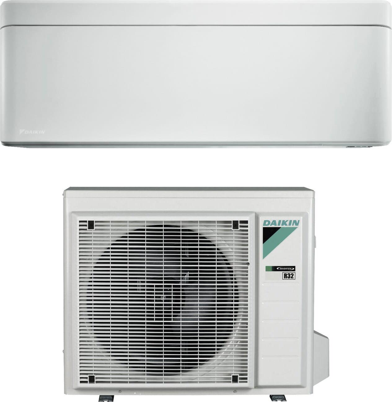 Daikin Sb.Ftxa35aw/rxaa Climatizzatore 12000 Btu /h Inverter Monosplit Condizionatore Con Pompa Di Calore Classe A+++/a+++ Wifi Gas R32 (Unità Interna + Unità Esterna) Colore Bianco - Sb.Ftxa35aw/rxaa Stylish
