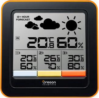Oregon Rar502x Stazione Meteo Meteorologica Barometro Igrometro Termometro Display Lcd - Rar502x