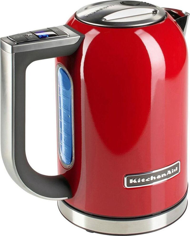 KitchenAid 5kek1722eer Bollitore Elettrico Acqua Capacità 1,7 Litri Potenza 2400 Watt Senza Fili Colore Rosso - 5kek1722eer