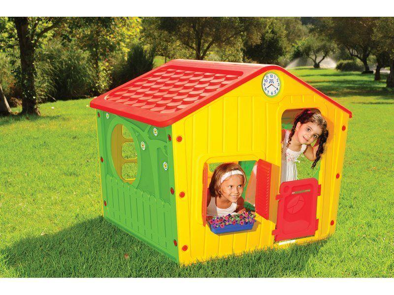 starplay 01-561 Casa Gioco Casetta Per Bambini Da Giardino Esterno Cm 140x108x115 H - Village - 01-561